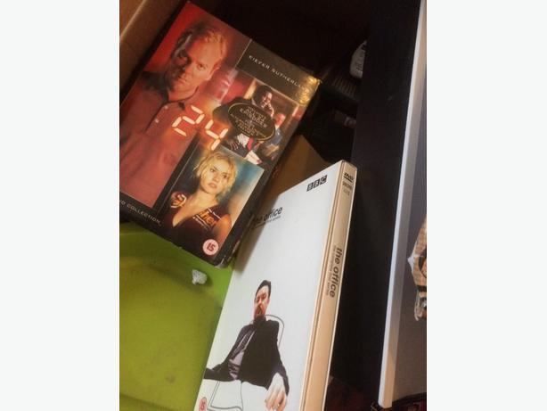 big box dvds /cds loads