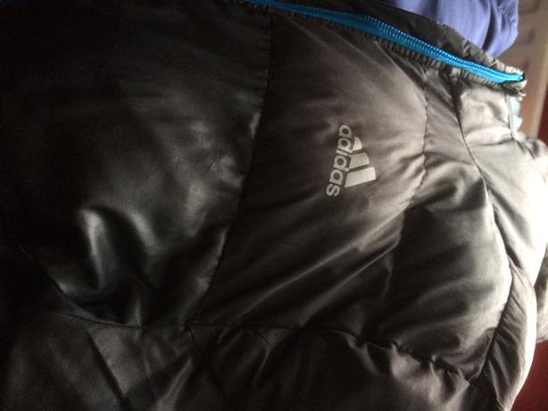 adidas puffa jacket boys size 11/13