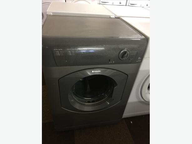 6KG HOTPOINT GRAPHITE VENTED TUMBLE DRYER🌎🌎PLANET APPLIANCE🌎🌎