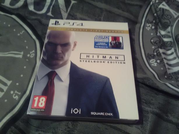 PS4 Hitman steel book