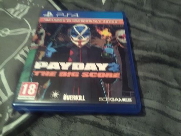 PS4 payday 2 big score