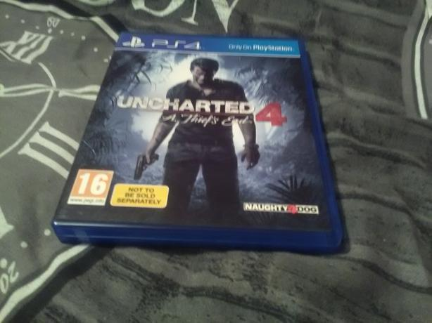 PS4 uncharted thief's end