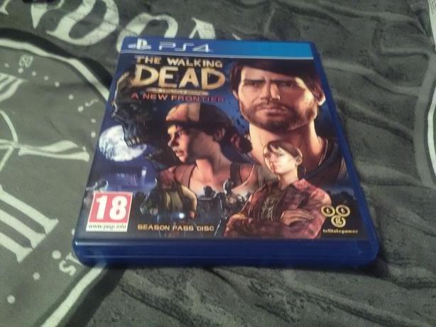 PS4 new frontier