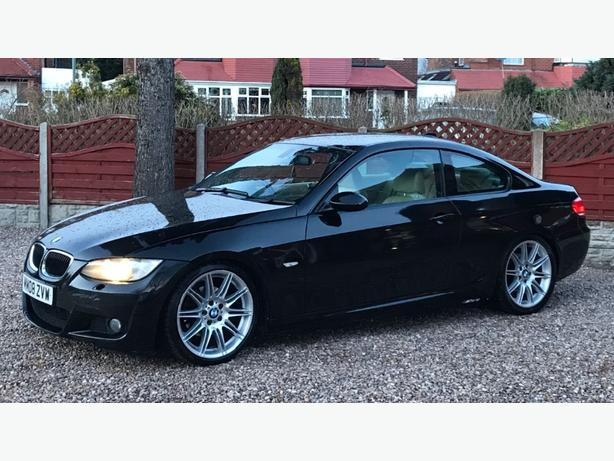 BMW 320D M SPORT COUPE 6 SPEED MANUAL HPI CLEAR TOP SPEC