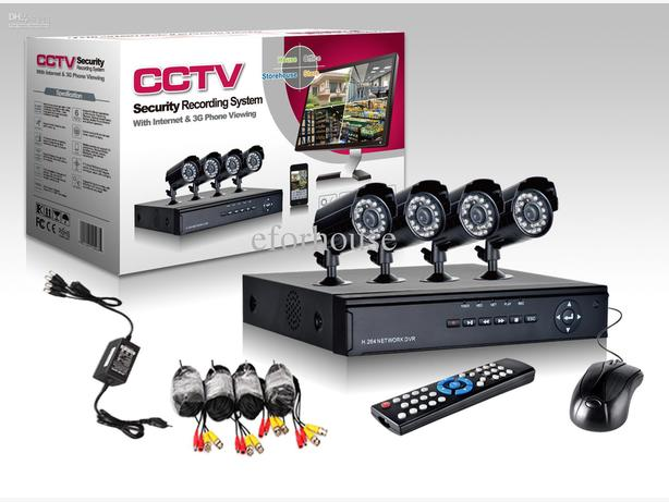 HD CCTV INSTALLED 4 X CAMERA AND HD RECORDER FULL GUARANTEE £299