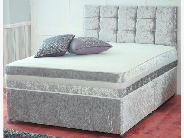 NEW crushed velvet bed sets