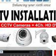 SPECIAL OFFER 4 HD CAMS AND DVR INSTALLED ONLY 300 12MTH GTEE
