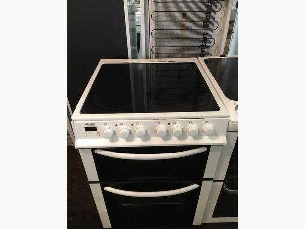 BUSH WHITE 60CM ELECTRIC COOKER GOOD CONDITION🌎🌎PLANET APPLIANCE🌎