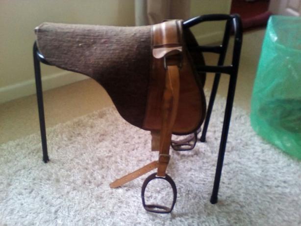Vintage saddle pad pony /shetland