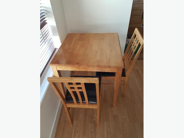 Dinner Table and two chairs
