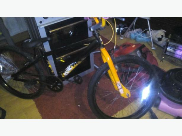 x rated exile bmx stunt bike