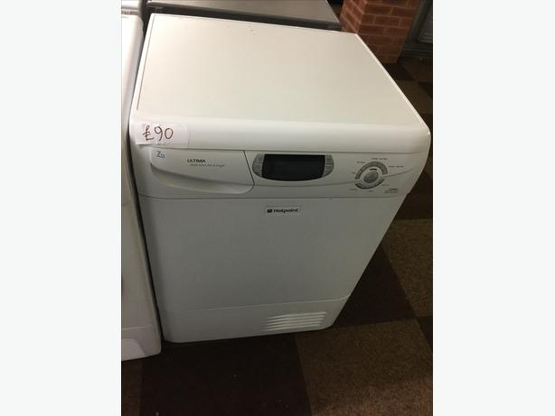 HOTPOINT ULTIMA LCD 7KG CONDENSER DRYER WITH GUARANTEE 🇬🇧🇬🇧🌎🌎