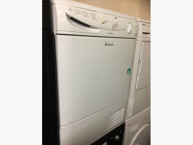 7 KG CONDENSER DRYER BY HOTPOINT WITH GUARANTEE 🇬🇧🇬🇧🌎🌎