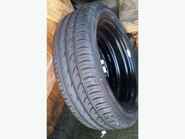 BRAND NEW CONTINENTAL 195 55 16 TYRE ON NEW VAUXHALL WHEEL
