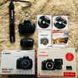Canon EOS 700D EF-S 18-55 IS STM Kit + extra battery pack and 16GB memory card