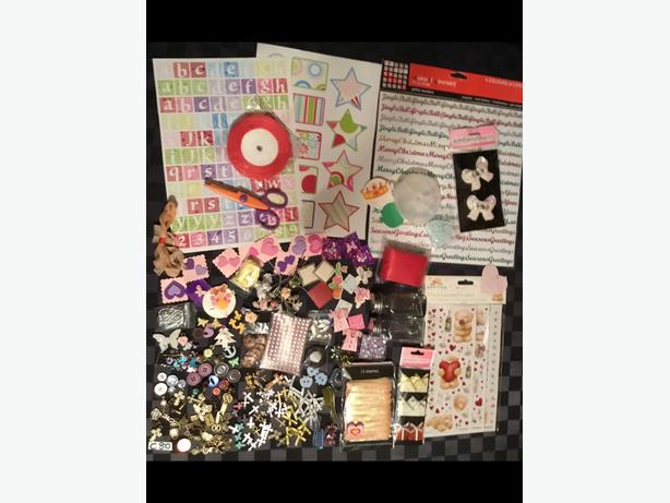 Y) NEW BULK JOB LOT CRAFTS. CARDMAKING,STICKERS.SEQUINS ETC