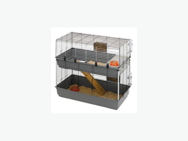2 tier cage/hutch