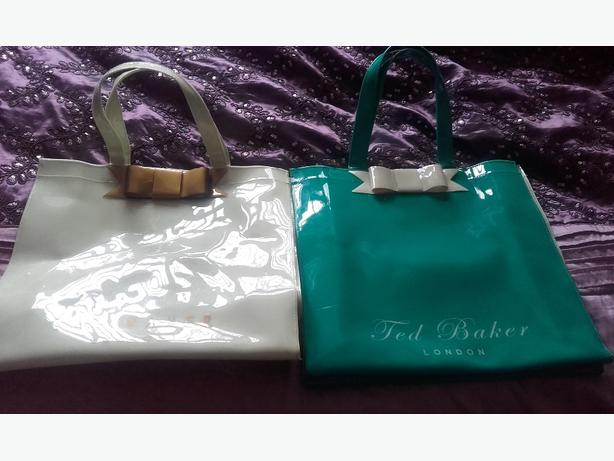 Two Ted baker large shopper bags