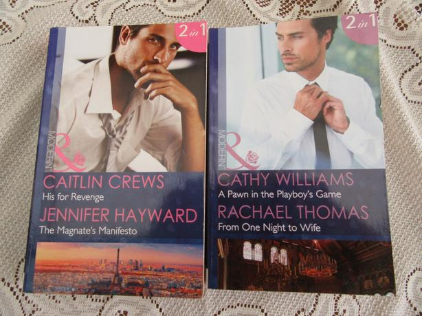 COLLECTION OF 17 : 2 in 1 MILLS & BOON BOOKS ( 34 STORIES )