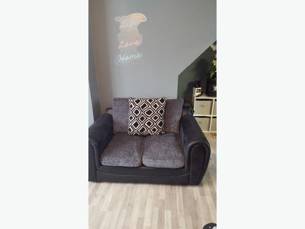 black n grey sofas