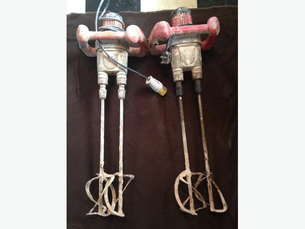 Vitrex paddle mixers