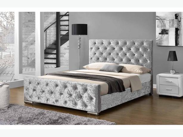 """PARISIAN"" DOUBLE LUXURY DESIGN BEDFRAME* BRANDNEW £245"