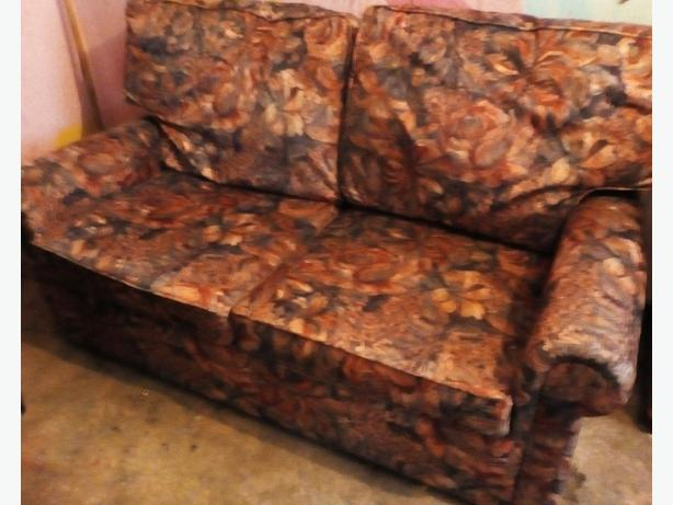 Two Seater Pull Out Bed Settee