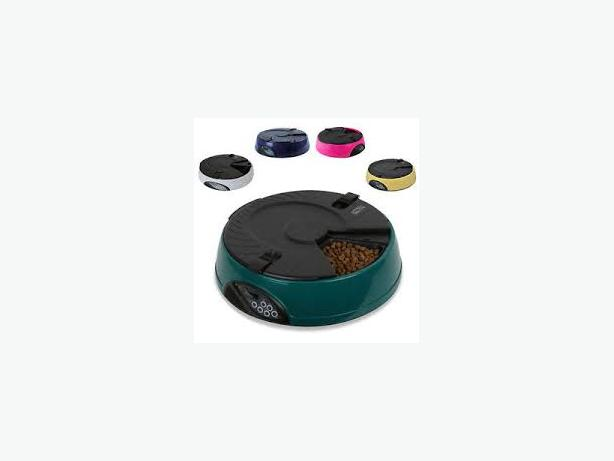 Automatic 6 Day Meal Pet Dog Cat Feede