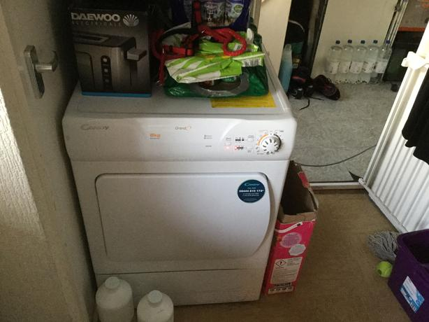 8kg tumble dryer