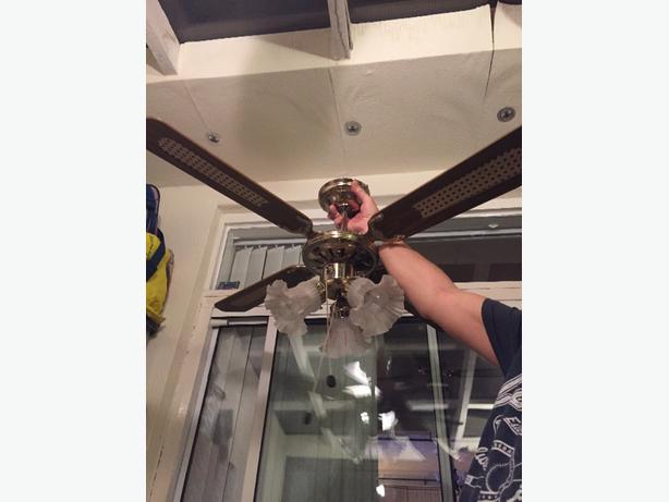 ceiling fan light fitting