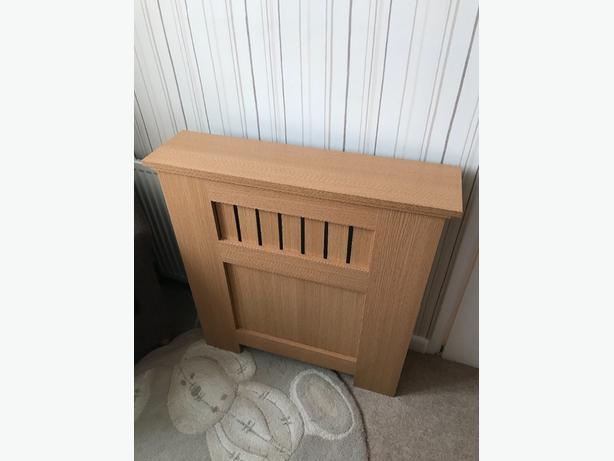 radiator cover mini size oak colour