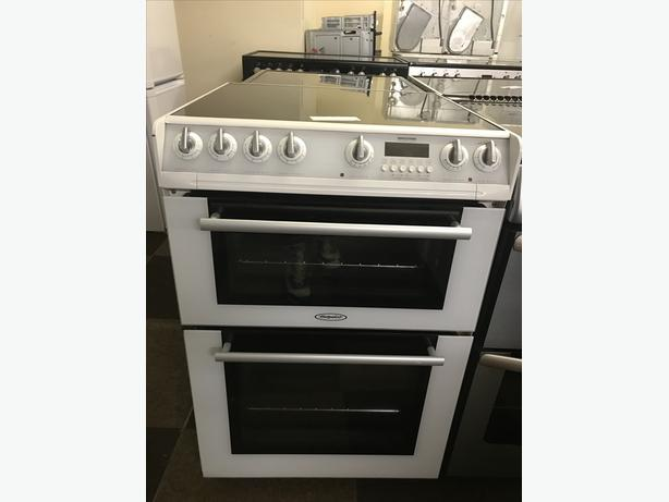 WHITE HOTPOINT 60 CM WIDE ELECTRIC COOKER WITH GUARANTEE 🇬🇧🇬🇧🌎🌎