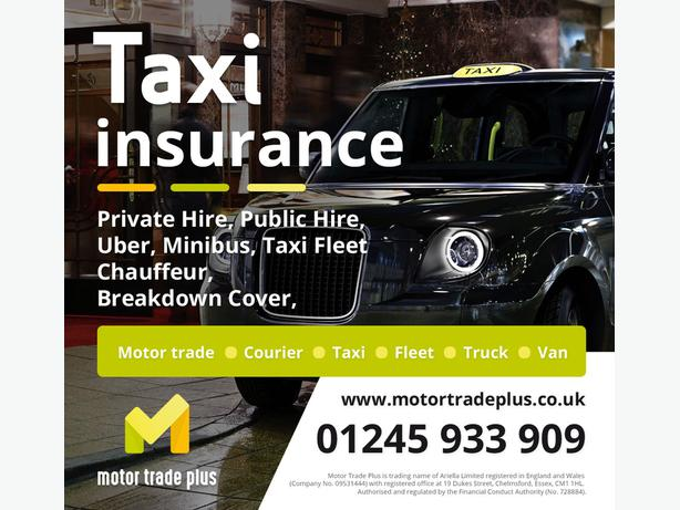 CHEAP INSURANCE TAXI - VAN - TRUCK - COURIER - MOTOR TRADE - FLEET