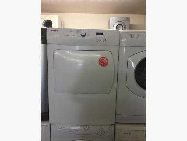 8KG HOOVER VENTED TUMBLE DRYER GOOD CONDITION🌎🌎PLANET APPLIANCE🌎🌎