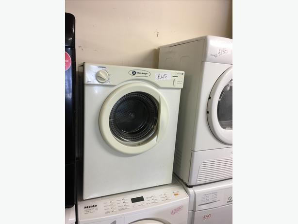 3KG WHITE KNIGHT MINI VENTED TUMBLE  DRYER🌎🌎PLANET APPLIANCE🌎