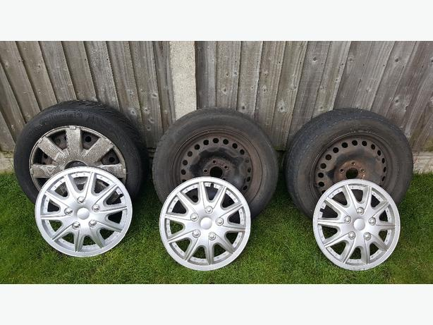 mondeo mk3 wheels and trims set of 3