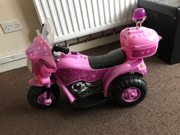 pink electric bike