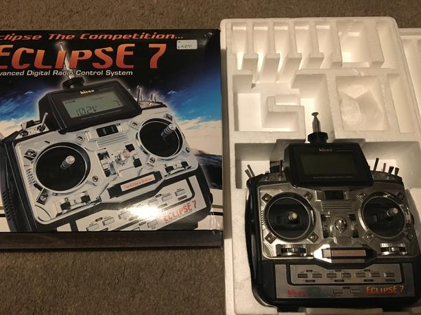 Hitec Eclipse 7 Radio Control TX Plane Glider Heli