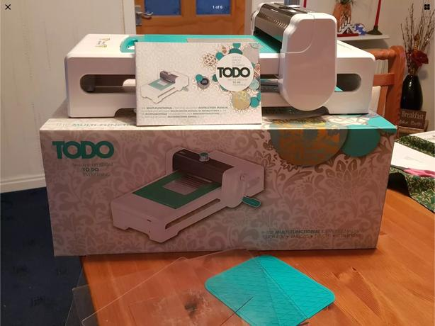 TODO DIE CUTTING, HOT FOIL & EMBOSSING MACHINE + EXTRAS