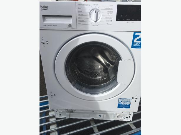 New built in 8kg washing machine rrp £399
