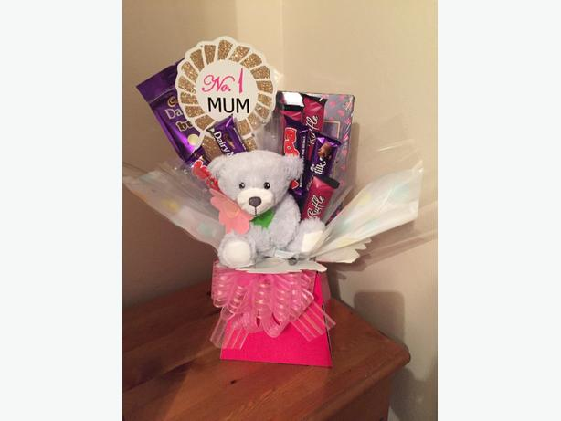 mothers day chocolate boquet £20 delivered