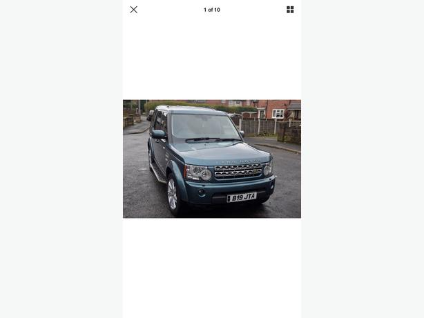 land rover discovery 4 XS auto