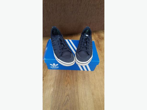Adidas Honey Low Trainers - Blue  size 3 1/2