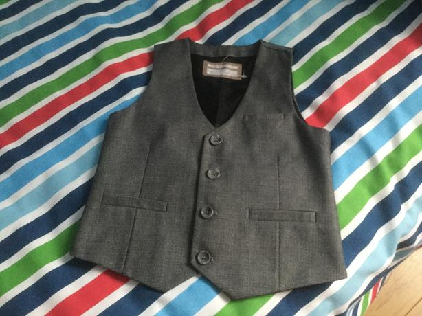 Boy's grey waistcoat