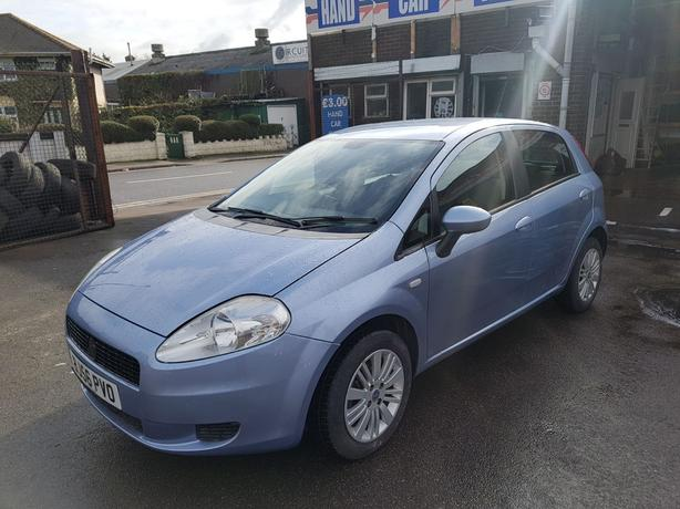 56 REG FIAT PUNTO DYNAMIC 1.4 68000 MILES WITH HISTORY