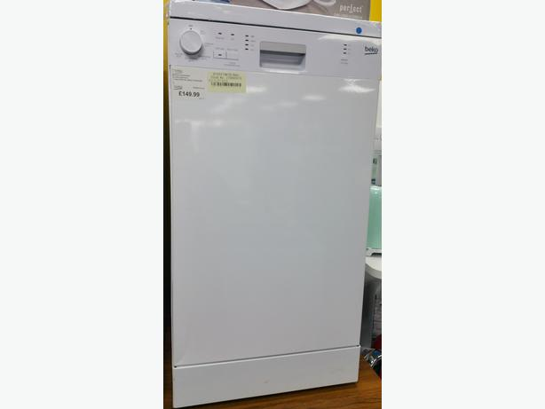 **GRADED** BEKO SLIMLINE DISHWASHER + 12 MONTHS WARRANTY