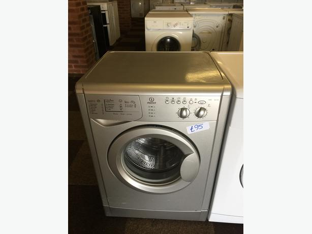 6KG INDESIT SILVER WASHER GOOD CONDITION🌎🌎PLANET APPLIANCE🌎🌎