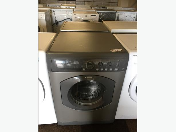 8KG GRAPHITE HOTPOINT WASHING MACHINE GOOD CONDITION🌎PLANET APPLIANCE🌎