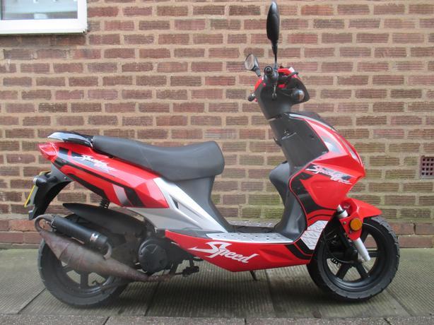 50cc 2 stroke Moped