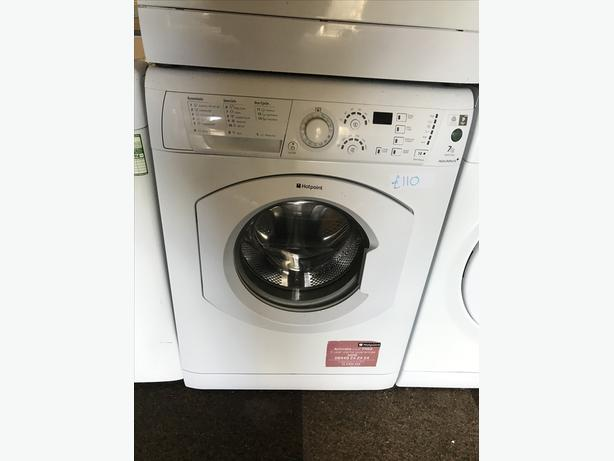HOTPOINT 7 KG LOAD WASHING MACHINE WITH GENUINE GUARANTEE 🇬🇧🇬🇧🇬🇧🇬🇧